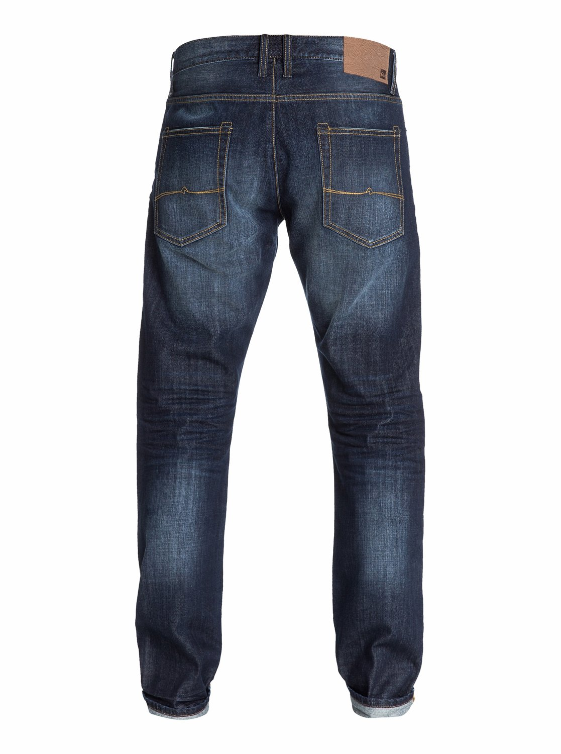 kracker aged straight tapered fit jeans 32 inseam eqydp03006 quiksilver. Black Bedroom Furniture Sets. Home Design Ideas