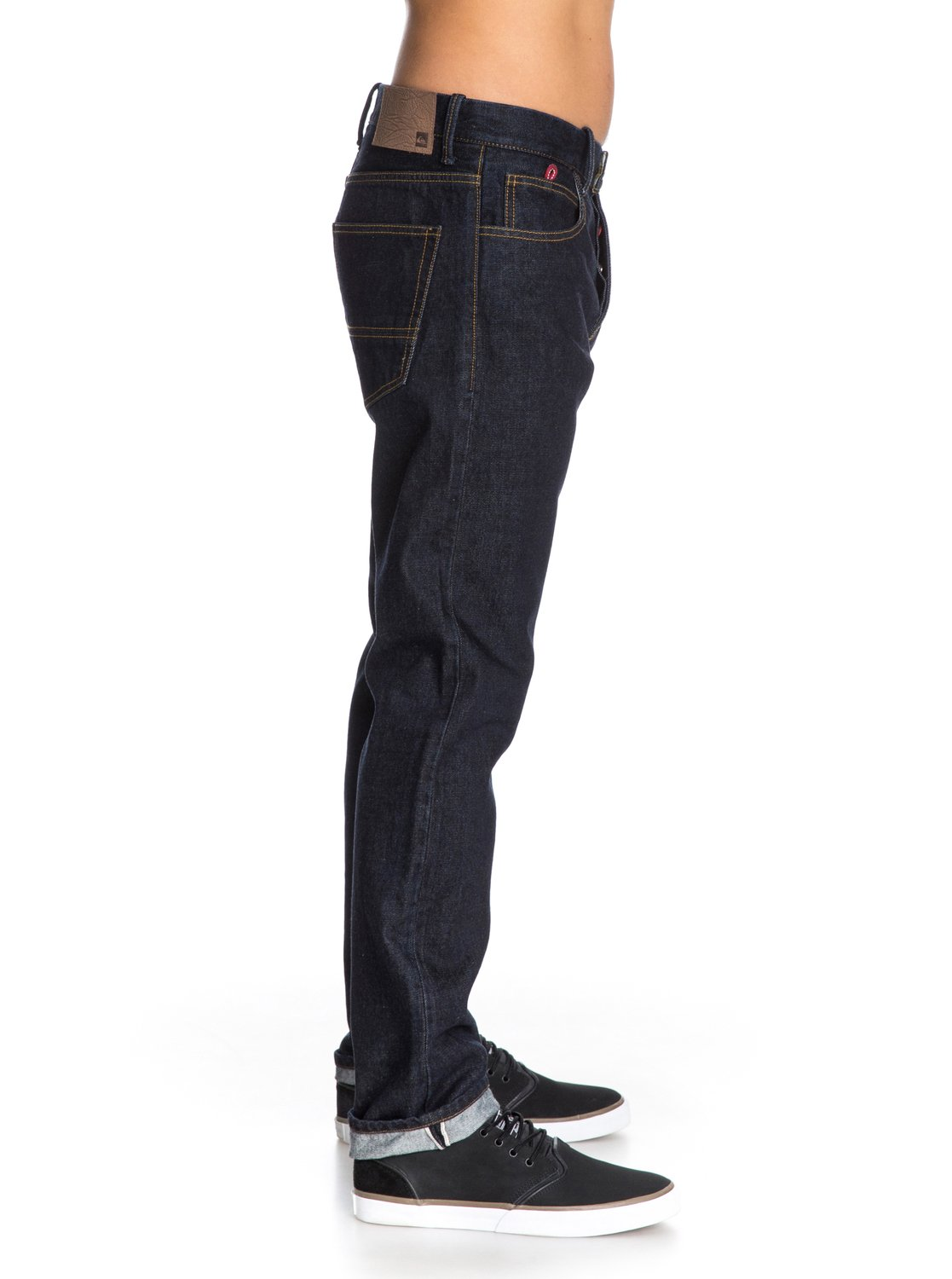 the denim jeans straight tapered fit 32 inseam eqydp03019 quiksilver. Black Bedroom Furniture Sets. Home Design Ideas