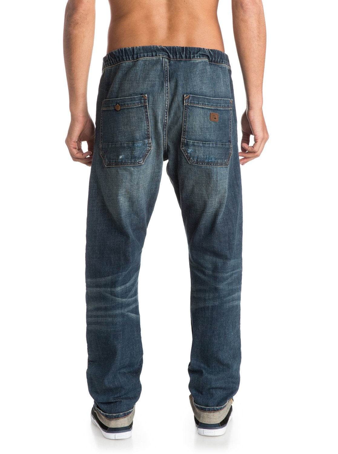 bradfonic straight tapered fit jeans 888701429166 quiksilver. Black Bedroom Furniture Sets. Home Design Ideas