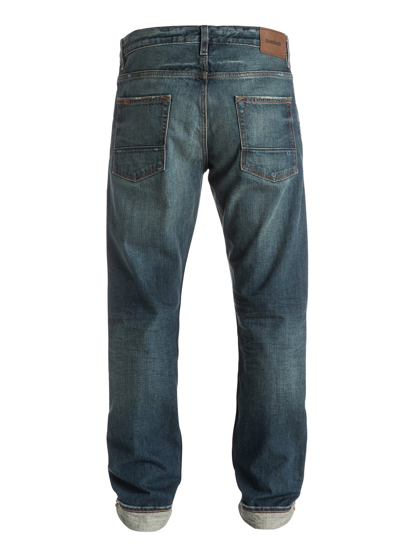 kracker oldest 34 straight tapered fit jeans eqydp03145 quiksilver. Black Bedroom Furniture Sets. Home Design Ideas