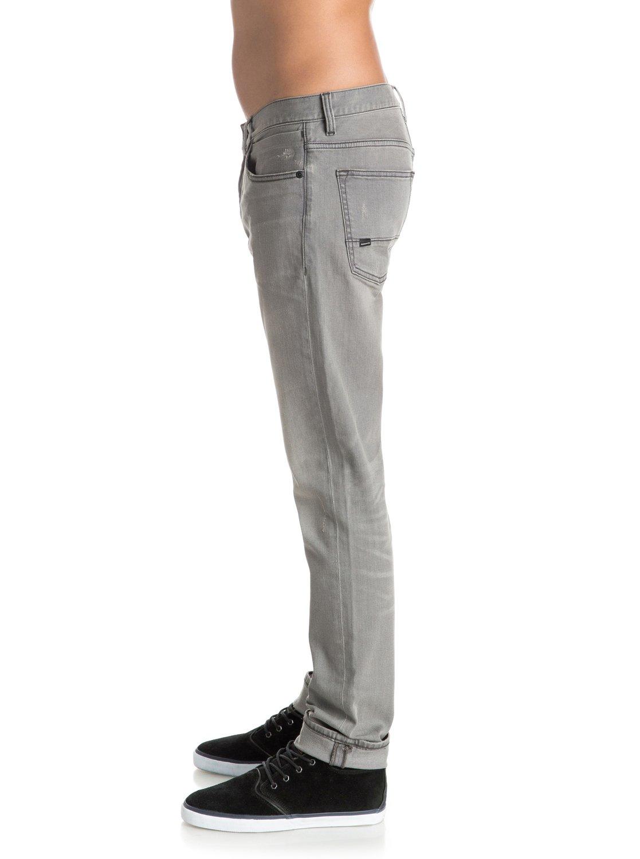 distorsion grey damaged 32 slim fit jeans 3613372000560. Black Bedroom Furniture Sets. Home Design Ideas