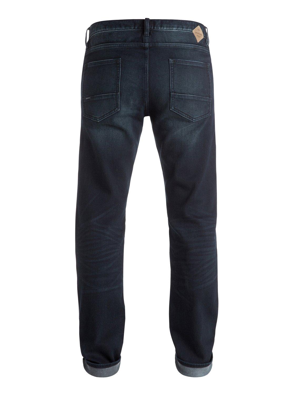 revolver dark blue 34 straight fit jeans eqydp03259. Black Bedroom Furniture Sets. Home Design Ideas
