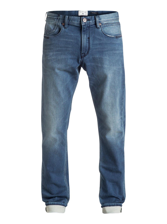 Biscanson - jean coupe droite slim pour homme - quiksilver