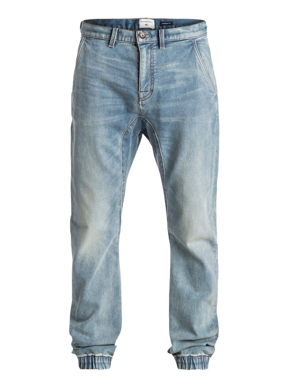 Fonic Fix new blur - pantalon de survêtement denim coupe droite pour homme - quiksilver