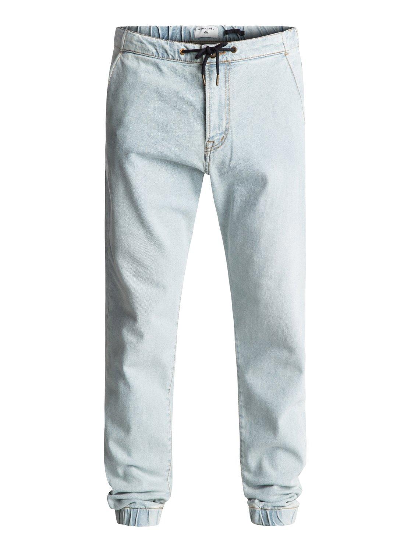 Bradfonic Bleached - pantalon de jogging en denim pour homme - quiksilver