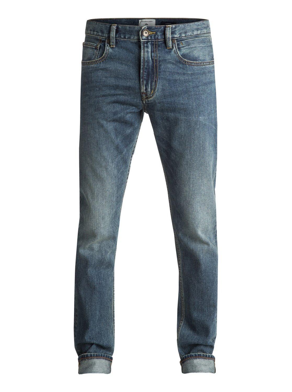 Distorsion Medium blue - jean slim pour homme - quiksilver