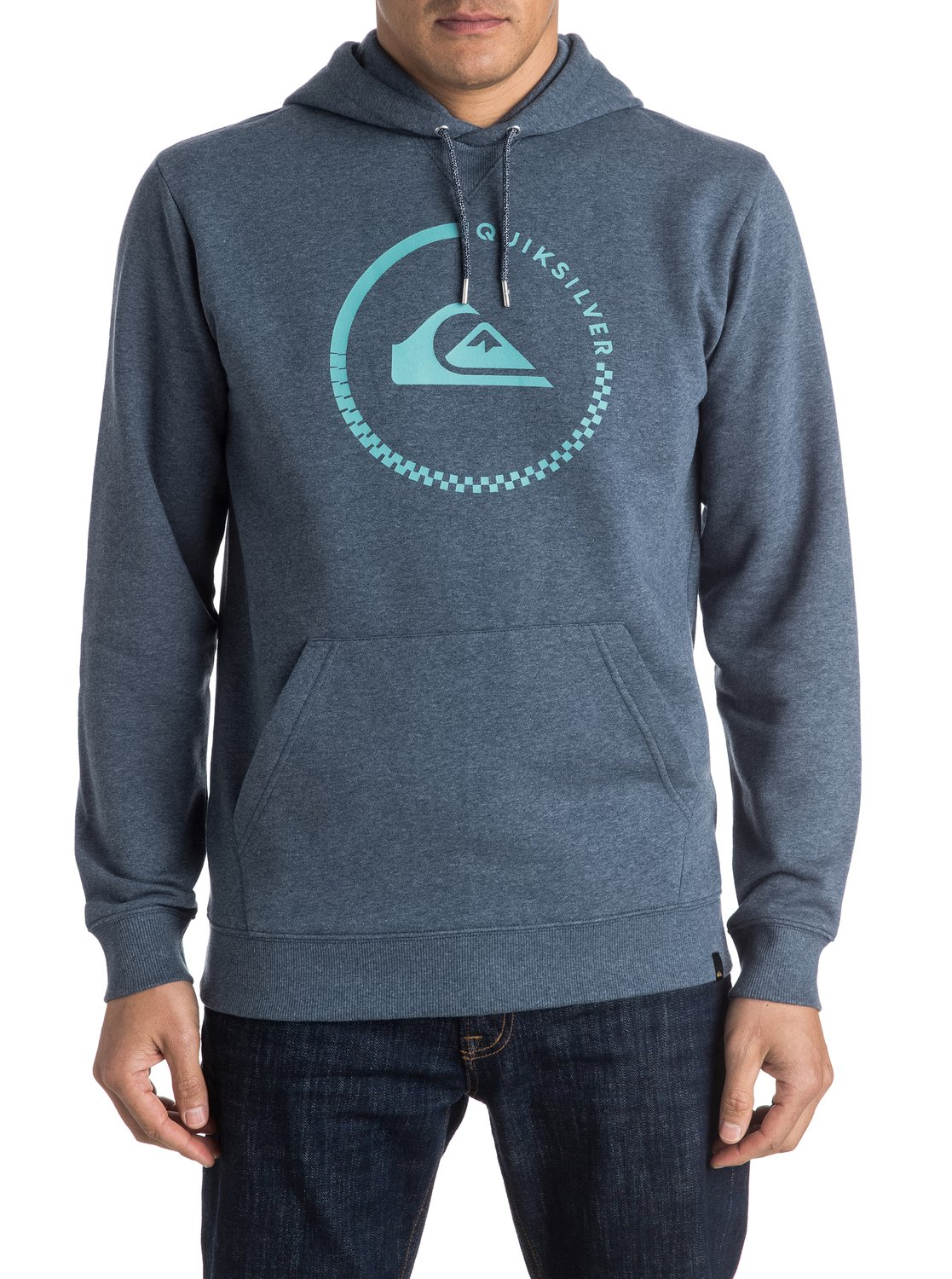 quiksilver big logo hoodie f r m nner eqyft03432 ebay. Black Bedroom Furniture Sets. Home Design Ideas