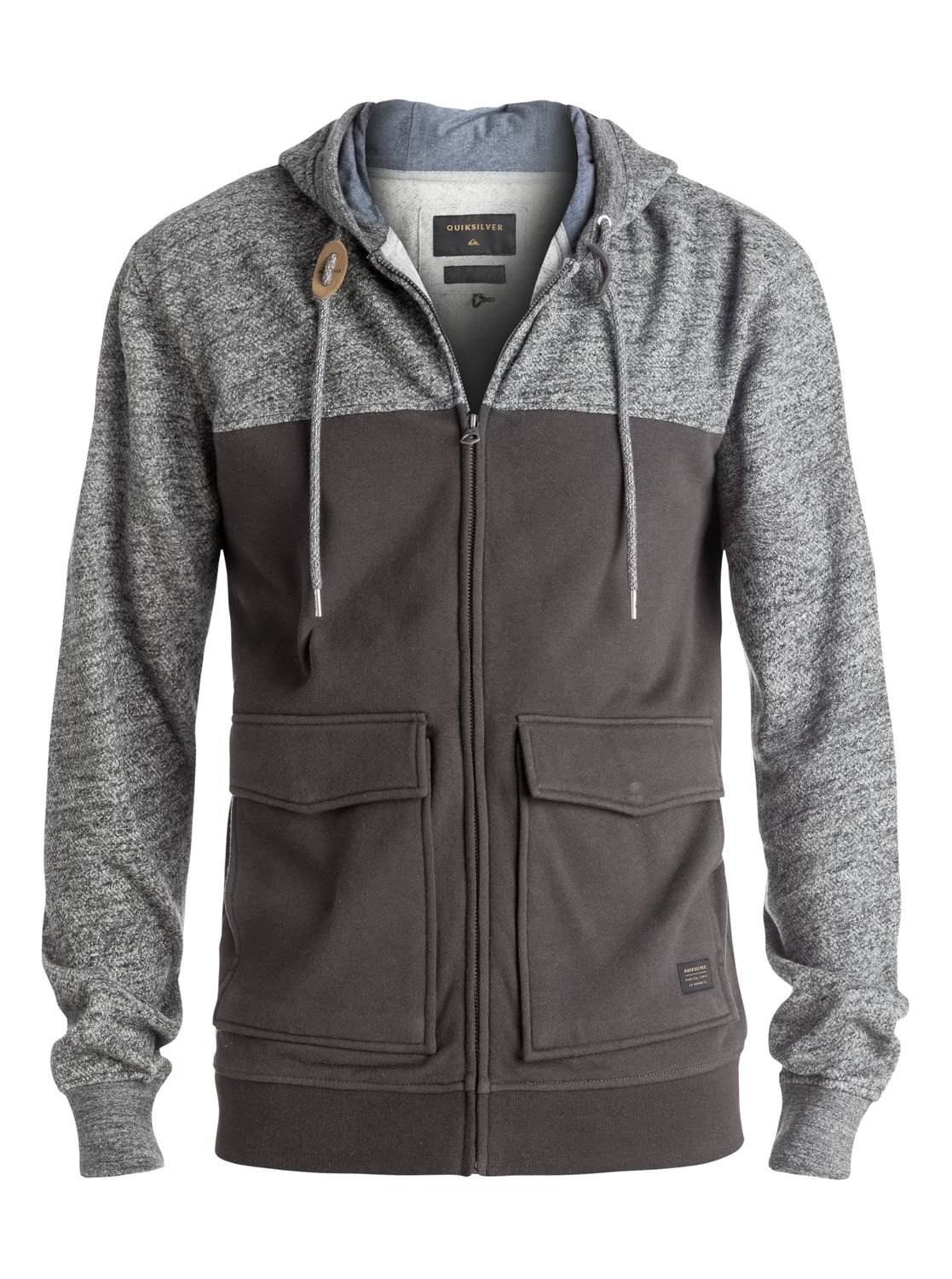 Civil Aire - Zip-Up Hoodie EQYFT03542 | Quiksilver