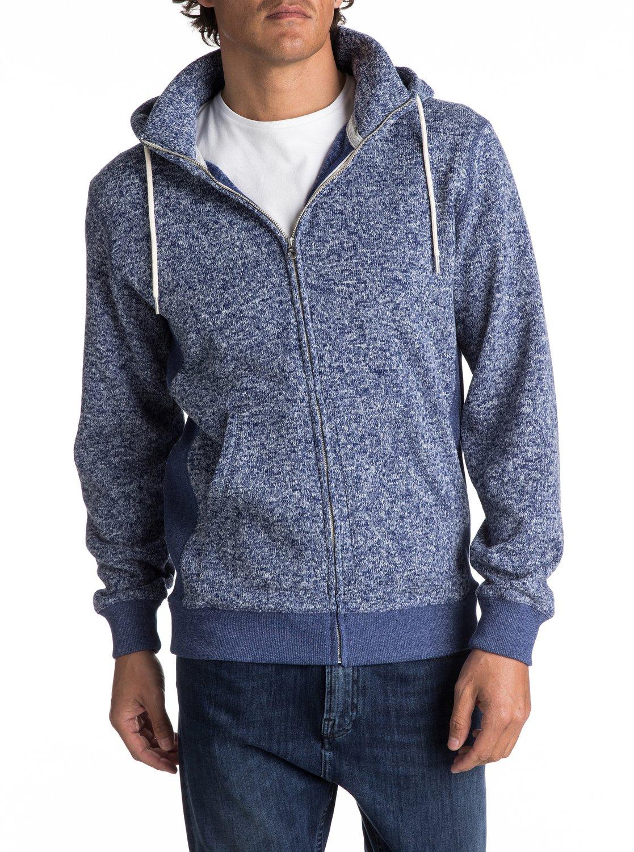 Keller Zip-Up Polar Fleece Hoodie EQYFT03661 | Quiksilver