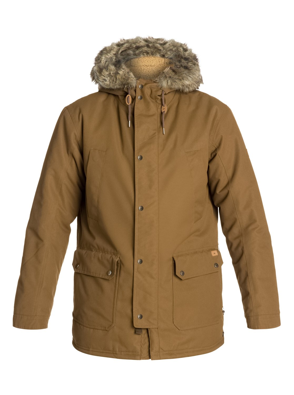 Quiksilver mens jacket - 0 Ferris Parka Jacket Eqyjk03046 Quiksilver