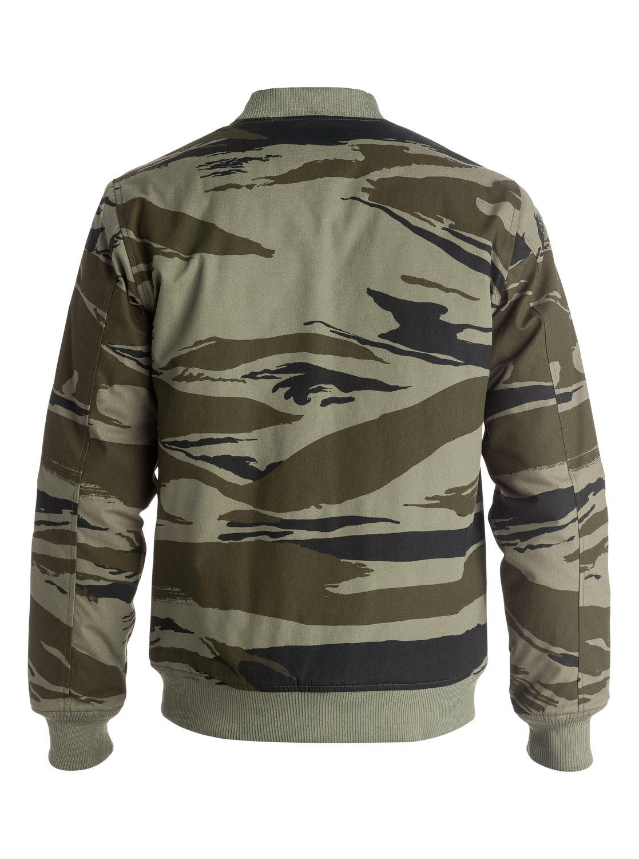 Quiksilver camo jacket