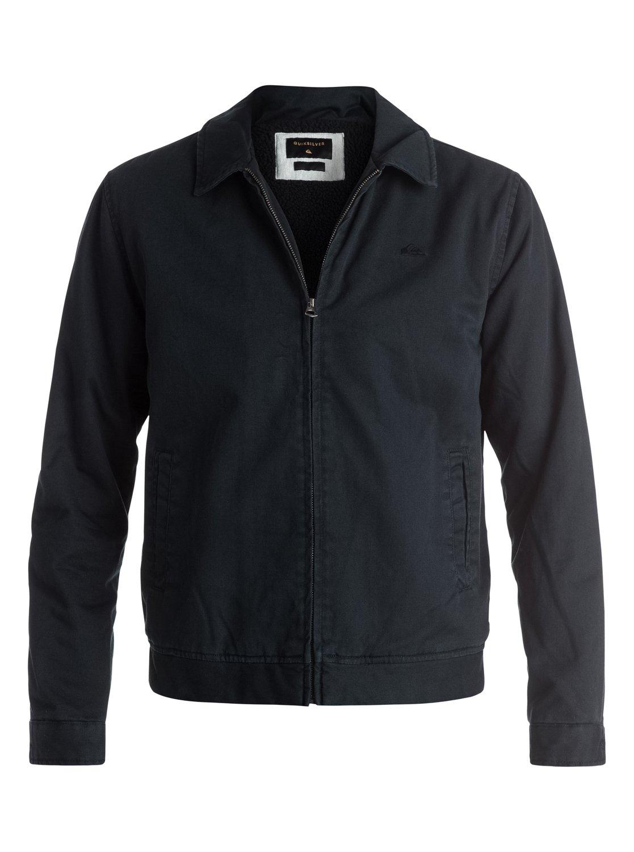 Quiksilver mens jacket - 0 Everyday Billy Harrington Jacket Black Eqyjk03235 Quiksilver