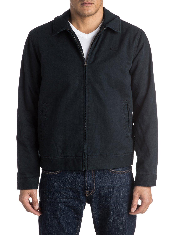 Quiksilver mens jacket - 2 Everyday Billy Harrington Jacket Black Eqyjk03235 Quiksilver