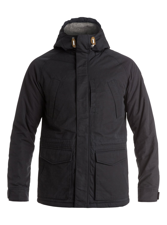 Quiksilver leather jacket