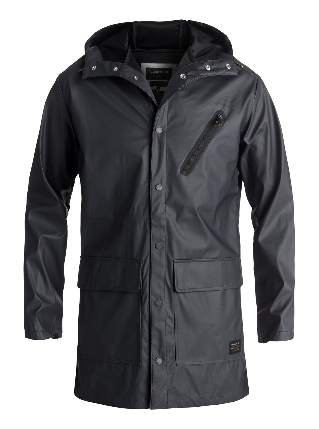 Quiksilver™ Travers Deep Long Rain Jacket EQYJK03309 | eBay