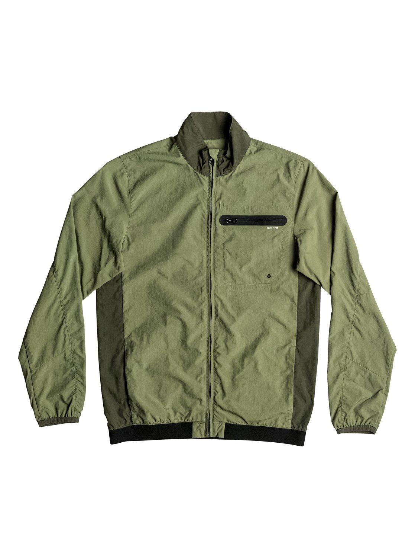 Куртка Arroyo в спортивном стилеОчень современная и яркая мужская куртка-бомбер! В ней спортивная эстетика сочетается с классическим уличным стилем одежды, а ненавязчивую расцветку в черных и зеленых тонах дополняют небольшие, но важные детали: сеточные вставки (для вентиляции), удобный нагрудный карман и эластичные манжеты и пояс. Весной и летом одним цветом!<br>