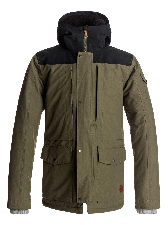 Canyon - Manteau imperméable à capuche pour Homme - Quiksilver