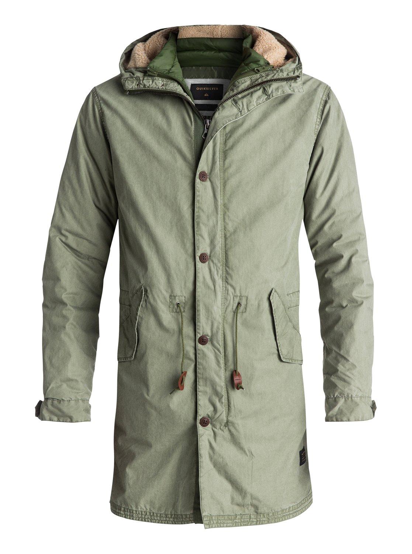 Bremer Land - manteau long 3 en 1 pour homme - quiksilver