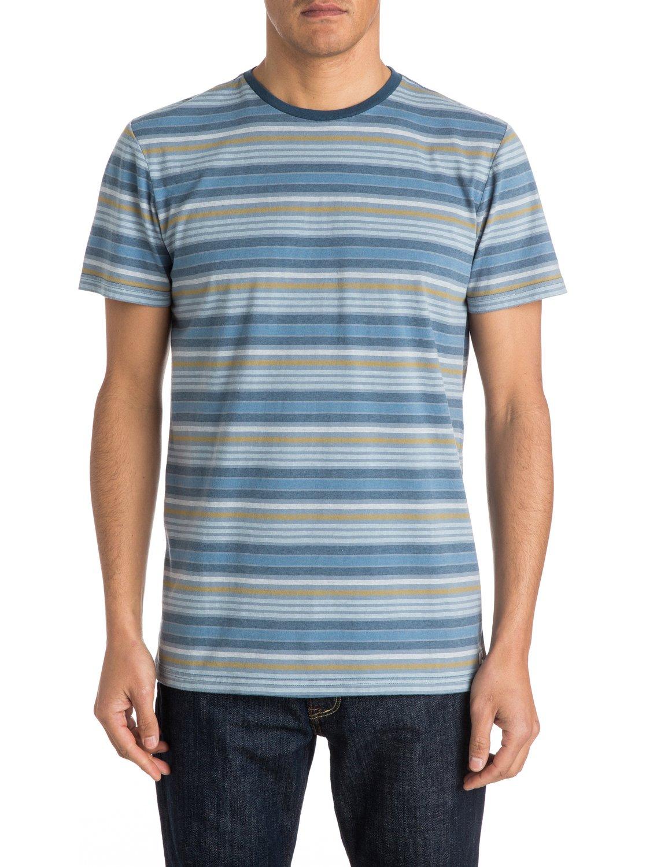 stripey stripe t shirt eqykt03182 quiksilver. Black Bedroom Furniture Sets. Home Design Ideas