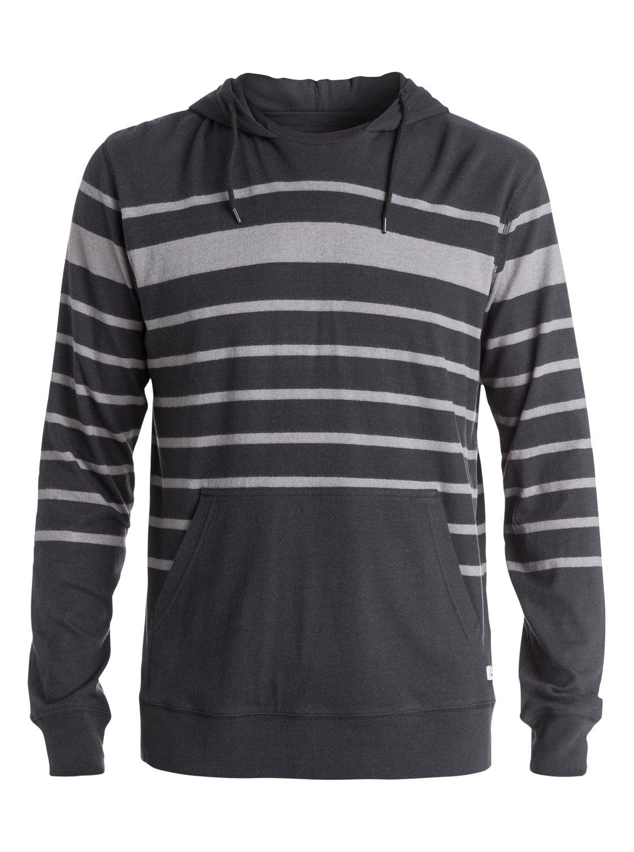 0 Snit Stripe Hoodie Black EQYKT03206 Quiksilver