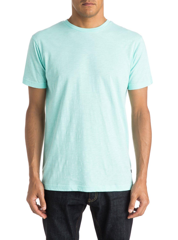 Everyday slub t shirt eqykt03284 quiksilver for What is a slub shirt