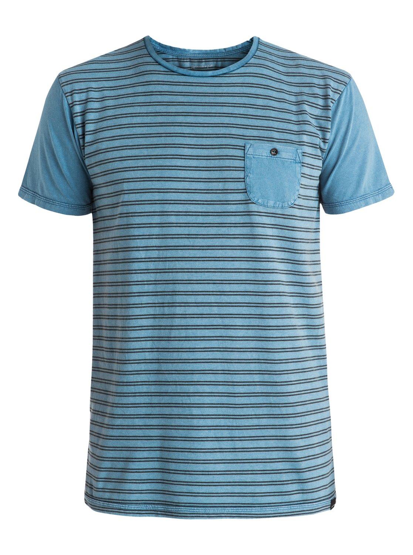 Acid Striped - tee-shirt à poche pour homme - quiksilver