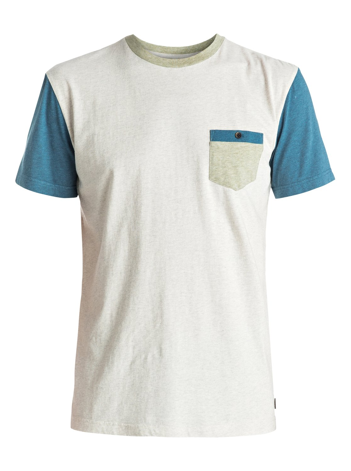 Baysic - tee-shirt à poche pour homme - quiksilver