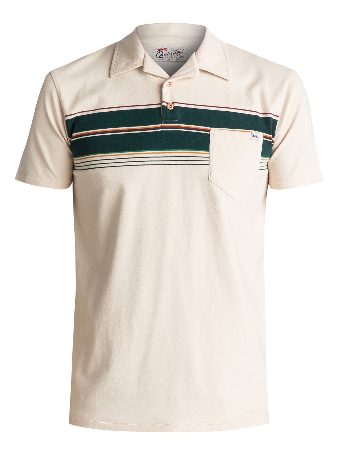 Daba Wy - Polo pour Homme - Quiksilver