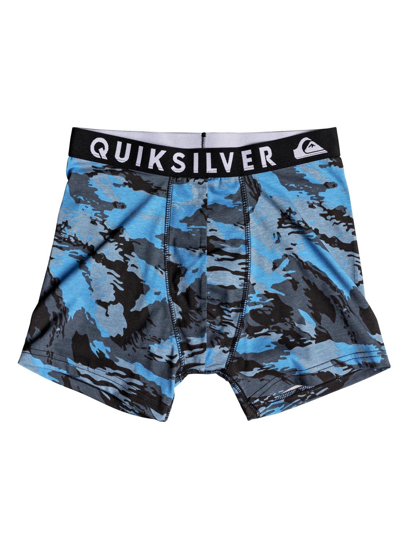 Трусы Poster трусы quiksilver boxer edition real teal
