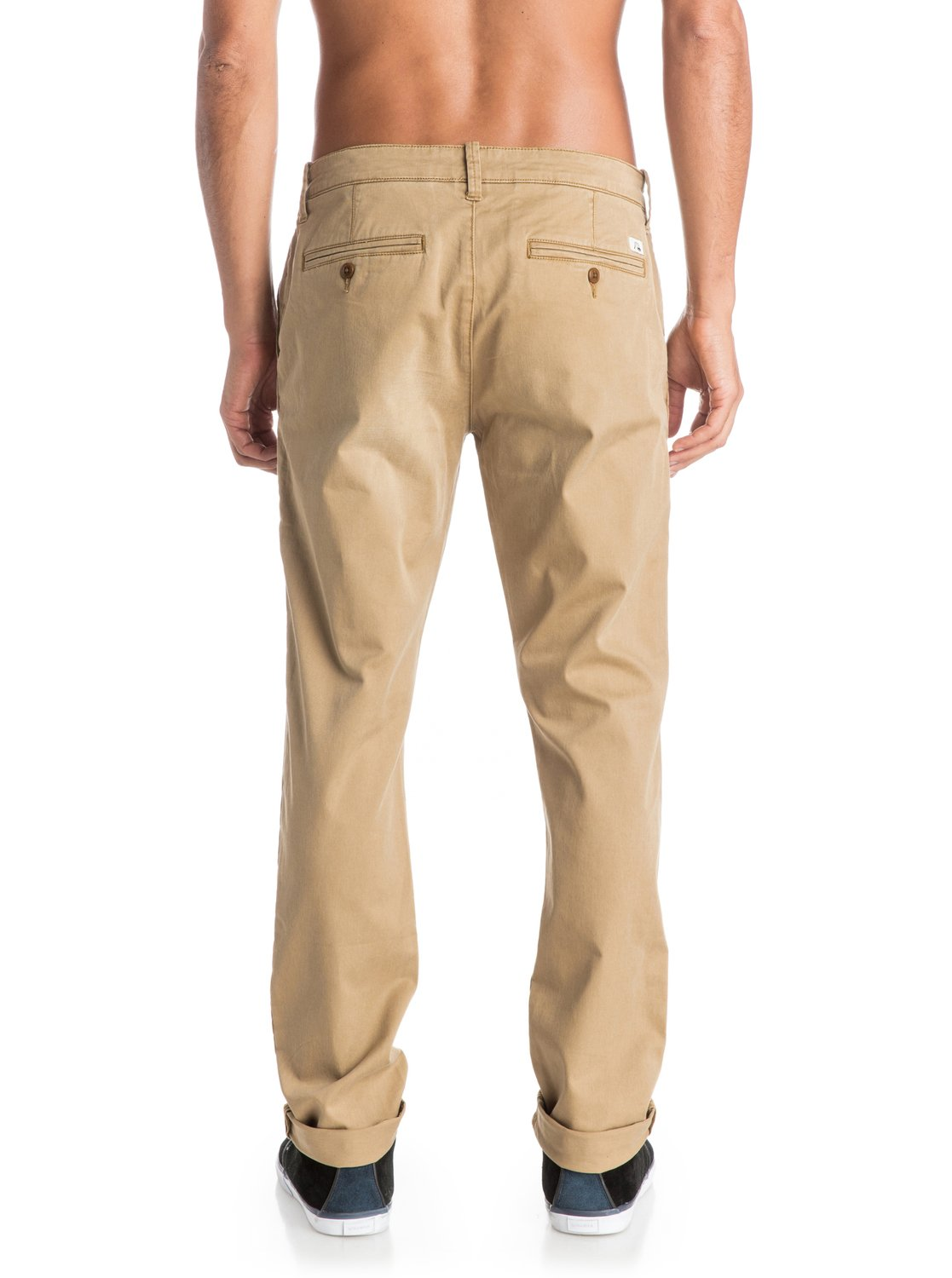 Krandy Straight Fit Tapered Chinos Eqynp03068 Quiksilver