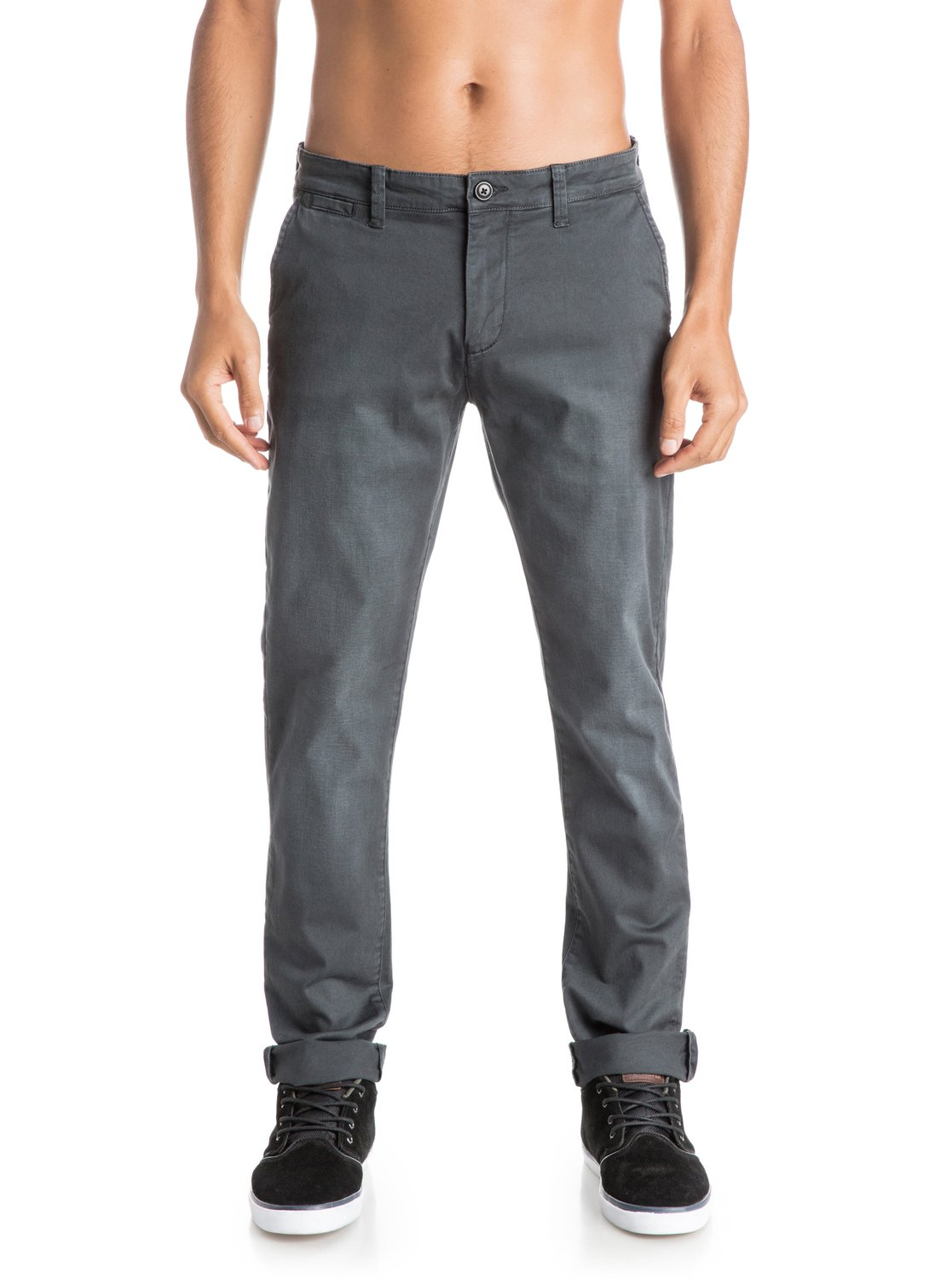 Athletic fit--it doesn't mean it's for super fit people, it really means it's a nice straight/roomy thigh with a tapered ankle and calf. Levis is a good one, but also check out Target. Their Goodfellows brand has a ton of jeans in athletic fit, and Levis Denizen is also a good athletic fit.