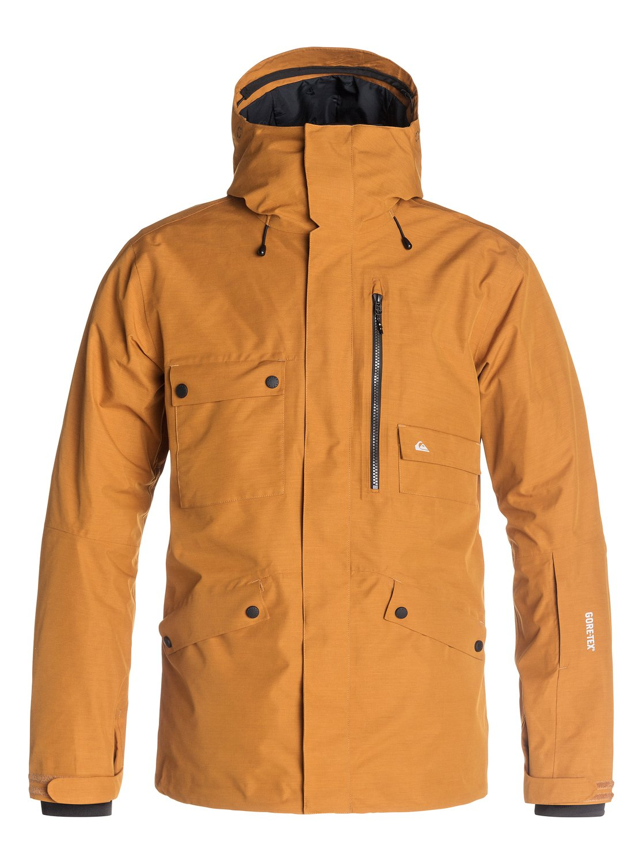 Quiksilver mens jacket - 0 Northwood 2l Gore Tex Snow Jacket Eqytj03003 Quiksilver