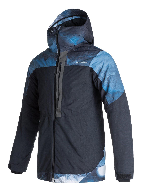 tension snowboard jacket eqytj03010 quiksilver. Black Bedroom Furniture Sets. Home Design Ideas