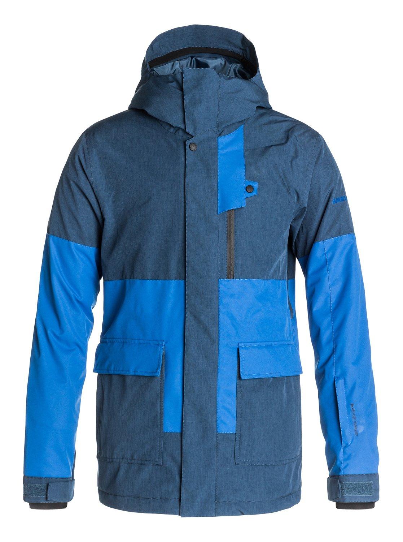 Quiksilver mens jacket - 0 York 10k Snow Jacket Eqytj03013 Quiksilver