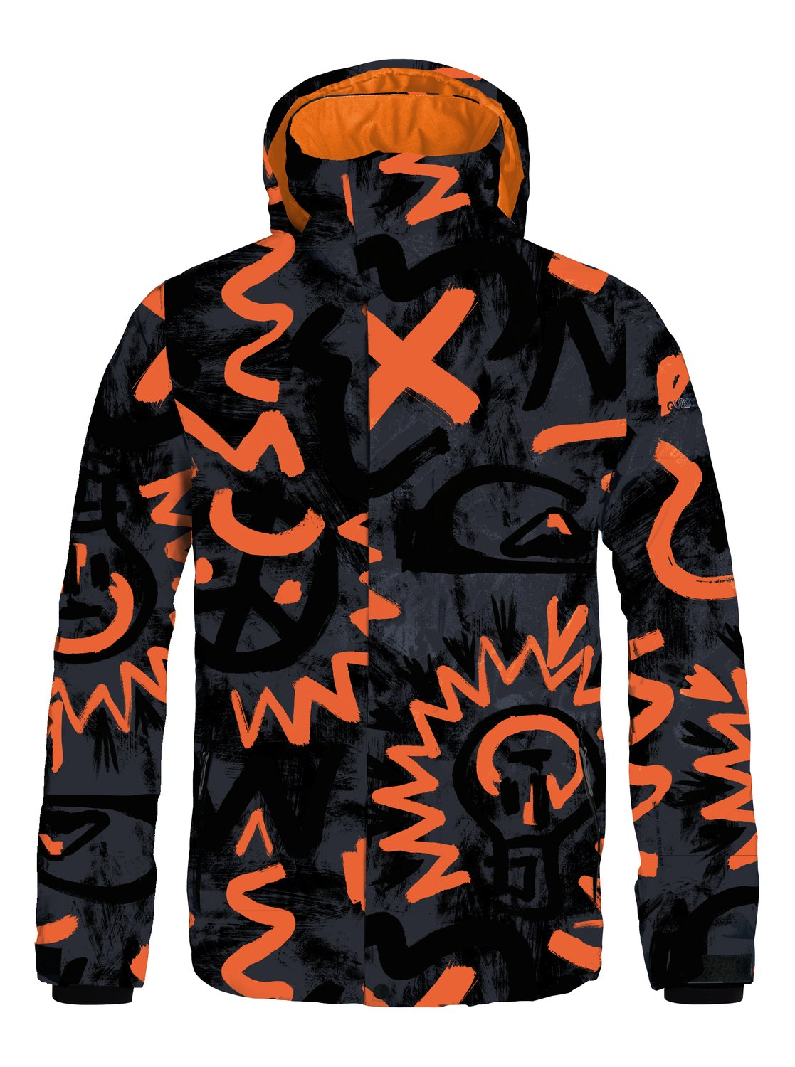 Mission Printed - Quiksilver������� ��������������� ������ Mission Printed �� ����� ��������������� ��������� Quiksilver. ��������������: ����������� ��� ���������, �������� ����������, ������� � ������������, ������� ������������ ������ � ������, ������ ���������� �� ��������� ������� �� ����������. ������: 100% ���������.<br>
