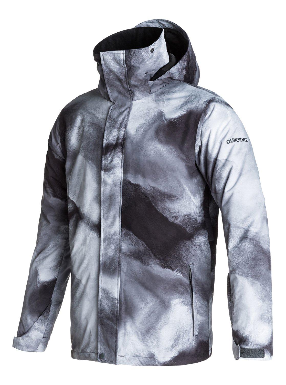 880eafef0de8 Mens Black Alder 2l Gore Tex Snow Jacket Eqytj03113 Quiksilver. Quiksilver  Travis Rice Hydro Snowboard ...