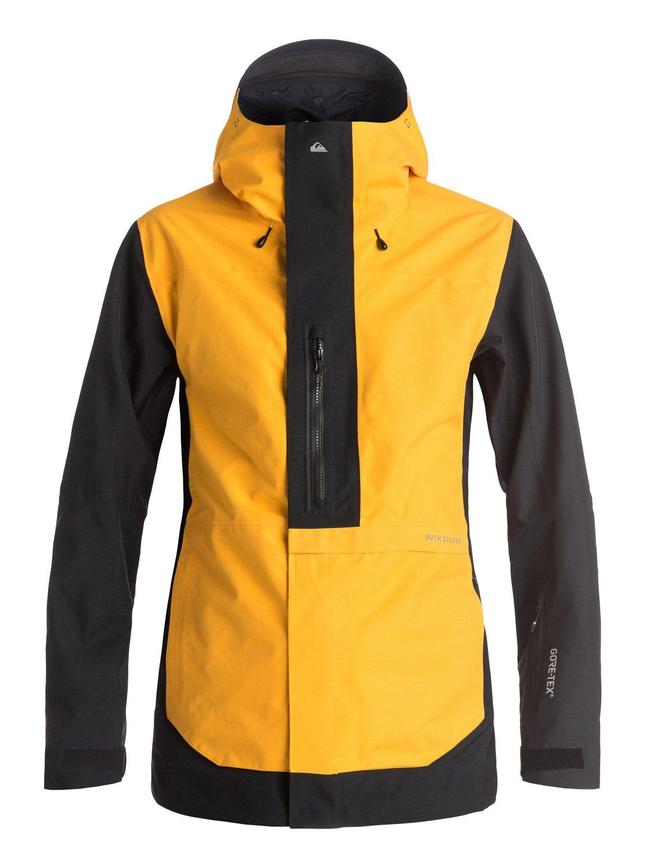 Сноубордическая куртка TR Exhibition 2L GORE-TEX®Искусство полета, искусство экипировки, искусство стиля: если Трэвису Райсу предстоит высадиться с вертолета на острый горный гребень Аляски, можете не сомневаться — на нем будет катальная одежда Highline. Наша коллекция Highline представлена верхними моделями и высшими технологиями водонепроницаемости из доступных сегодня на этой планете. В такой одежде тепло и сухо день за днем, неделю за неделей — какой бы ни была погода на очередной вершине, что вы собираетесь покорить.<br>