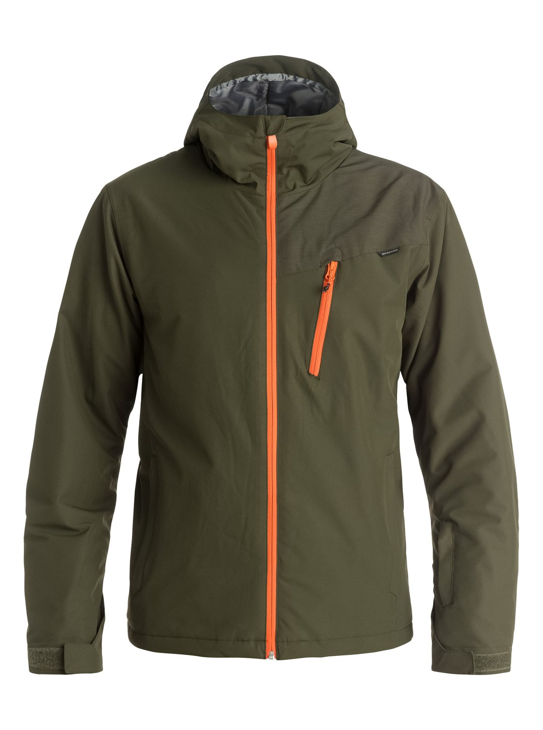Сноубордическая куртка Mission PlusThe Mission Plus snow jacket for men features our regular fit, and most relaxed cut, delivering maximum comfort and freedom of movement. Great for layering it has been constructed with 10K Quiksilver DryFlight® technology waterproofing for dependable waterproof and breathable protection in a wide range of conditions. Critically-taped seams and a jacket to pant attachment system offer extra protection in the most exposed areas while Warmflight® level 2 insulation ensures low-bulk warmth.<br>