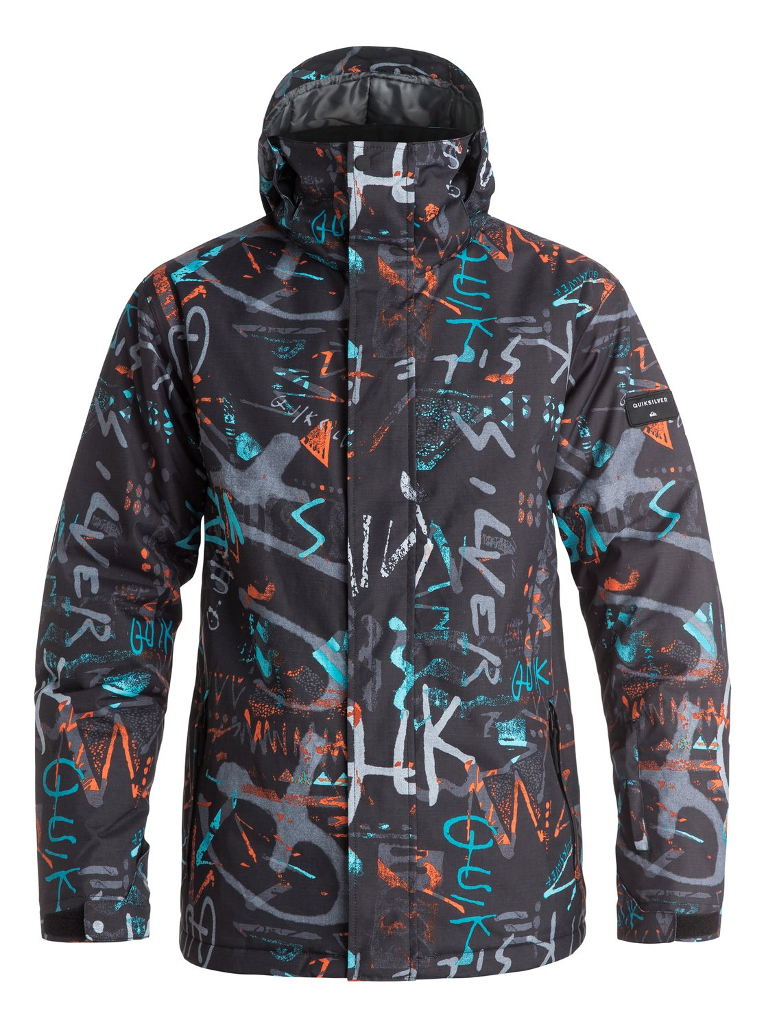 Сноубордическая куртка Mission PrintedThe Mission Printed snow jacket for men features 10K Quiksilver DryFlight® technology waterproofing and a relaxed easy-to-wear regular fit thats great for layering. The bold designs look after style while Warmflight® level 2 insulation takes care of the low-bulk warmth. The shell has been critically taped for extra protection in the most exposed areas.<br>