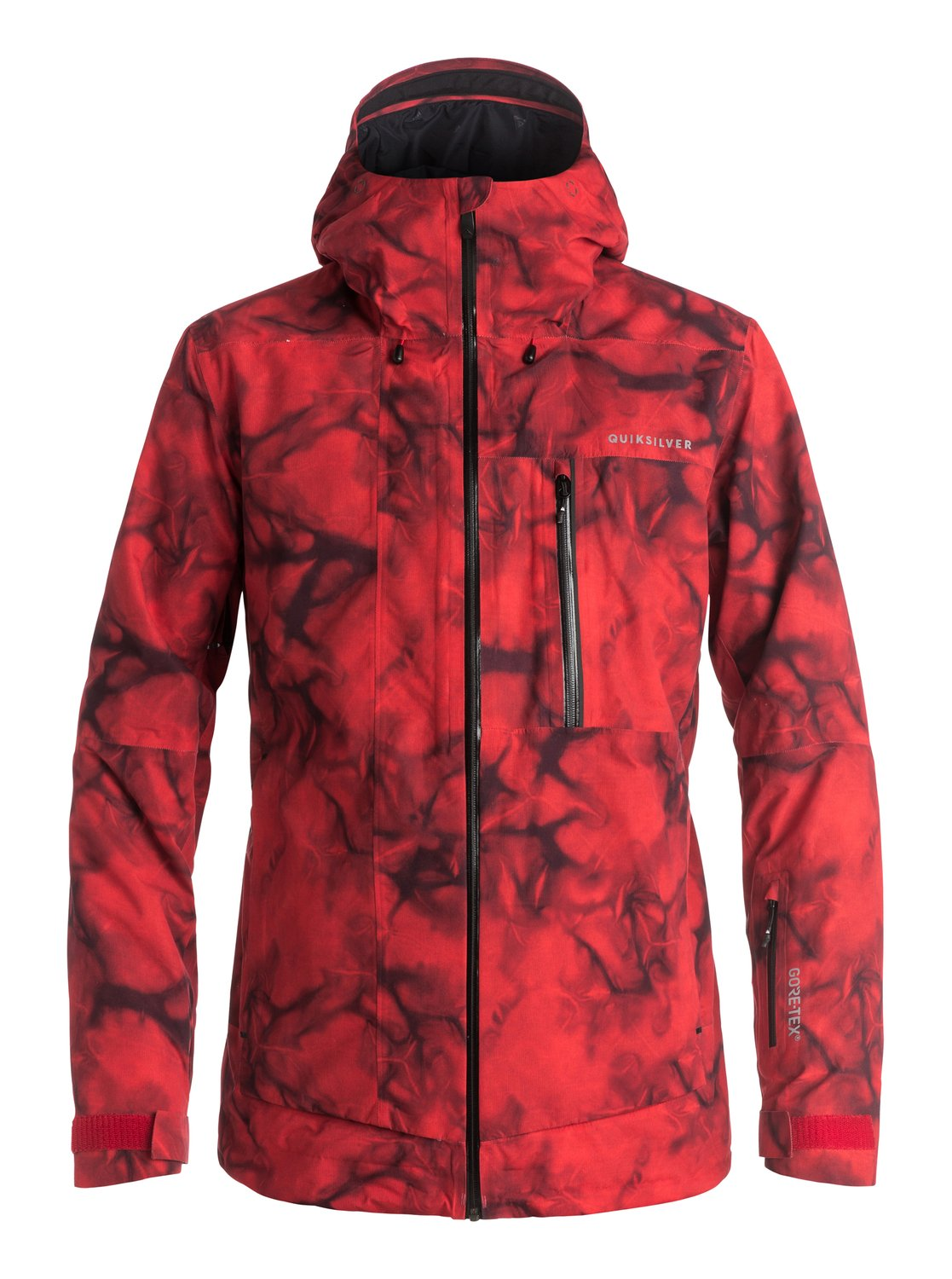 Сноубордическая куртка Impact Printed GORE-TEX®Joining this seasons Highline collection, the ultimate in outerwear technology, the Impact Printed snow jackets standout tie-dye design has been constructed with GORE-TEXs® 2L industry leading waterproofing that is guaranteed to keep you warm and dry all day, every day. PrimaLoft® Silver insulation offers compressible high-loft insulation for absolute insurance in all conditions and bulk-free breathable insulation. Fully-taped seams seal the deal.<br>