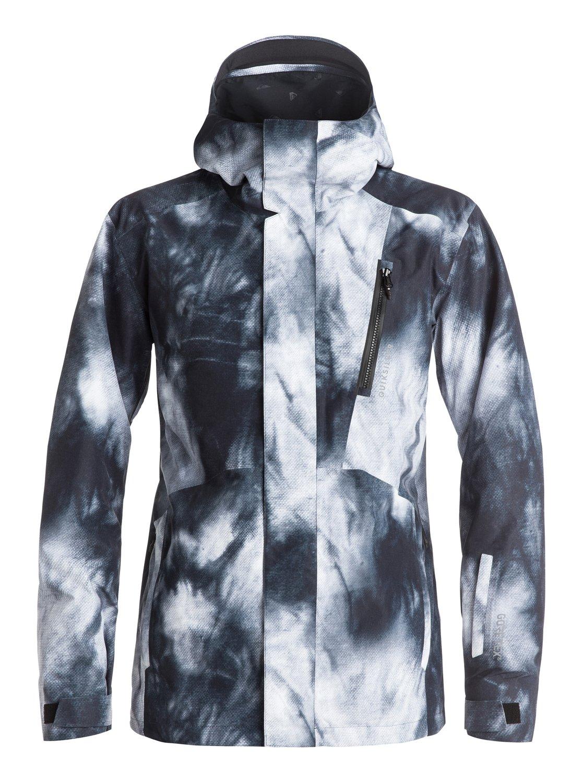 Сноубордическая куртка Forever Printed GORE-TEX®Искусство полета, искусство экипировки, искусство стиля: если Трэвису Райсу предстоит высадиться с вертолета на острый горный гребень Аляски, можете не сомневаться — на нем будет катальная одежда Highline. Наша коллекция Highline представлена верхними моделями и высшими технологиями водонепроницаемости из доступных сегодня на этой планете. В такой одежде тепло и сухо день за днем, неделю за неделей — какой бы ни была погода на очередной вершине, что вы собираетесь покорить.<br>