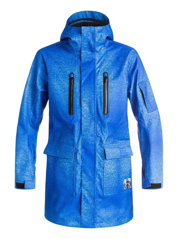 Длинная сноубордическая куртка Quiksilver X Julien DavidЖюльен Давид сделал несколько осторожных шагов и спустился с модного подиума, чтобы шагнуть в мир сноубординга и сделать небольшую капсульную коллекцию для Quiksilver к этой зиме. Дизайнер родился в Париже и живет в Токио, и эстетика его творчества всегда необычная и броская: этого нельзя не заметить, разглядывая вещи, вошедшие в нашу совместную коллекцию.<br>