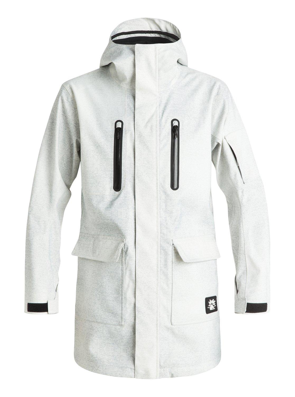 Длинная сноубордическая куртка Quiksilver X Julien David