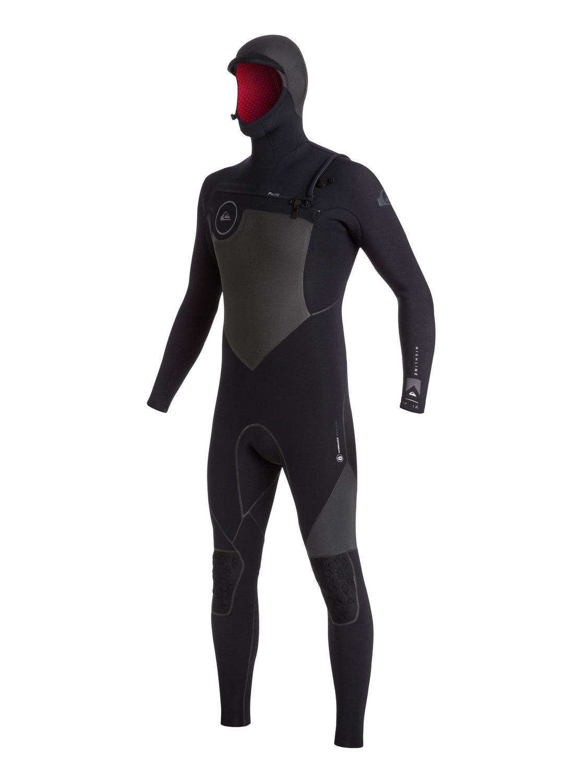 Highline 2X Bonded 5.5/5/4mm - Combinaison de surf intégrale à capuche zip poitrine pour homme - Quiksilver