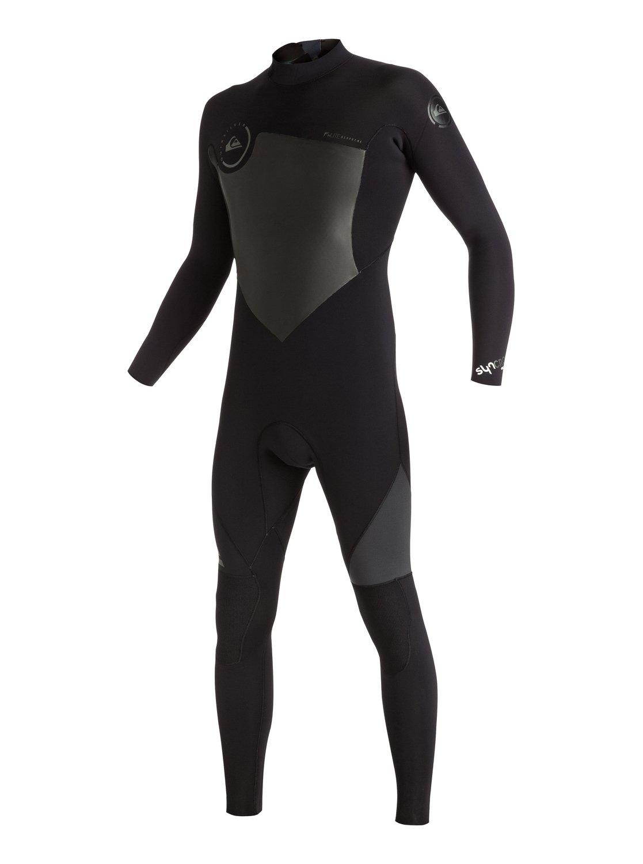 Syncro 4/3mm - Combinaison de surf intégrale zip dans le dos pour homme - Quiksilver