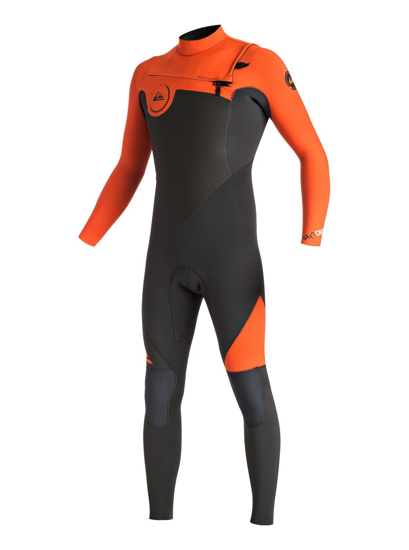 Syncro - Combinaison de surf intégrale zip poitrine pour Homme - Quiksilver