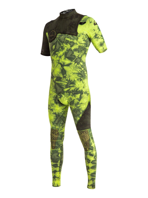 Highline Zipperless 2/2mm - Combinaison de surf intégrale sans zip à manches courtes pour homme - Quiksilver