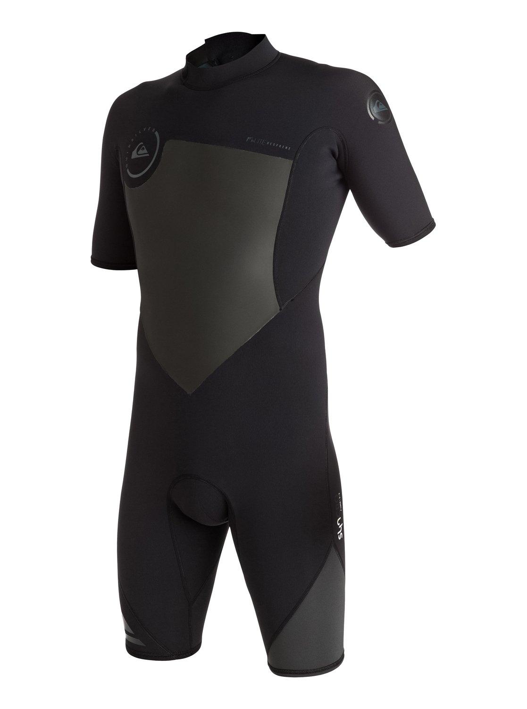 Короткий мужской гидрокостюм на спинной молнии Syncro 2/2mm
