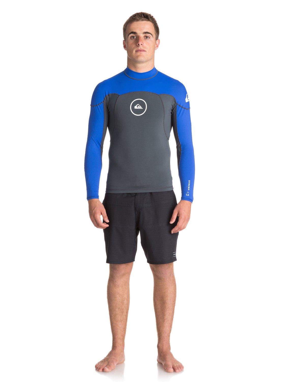 1mm Syncro series neoshirt - haut de combinaison de surf pour homme - quiksilver