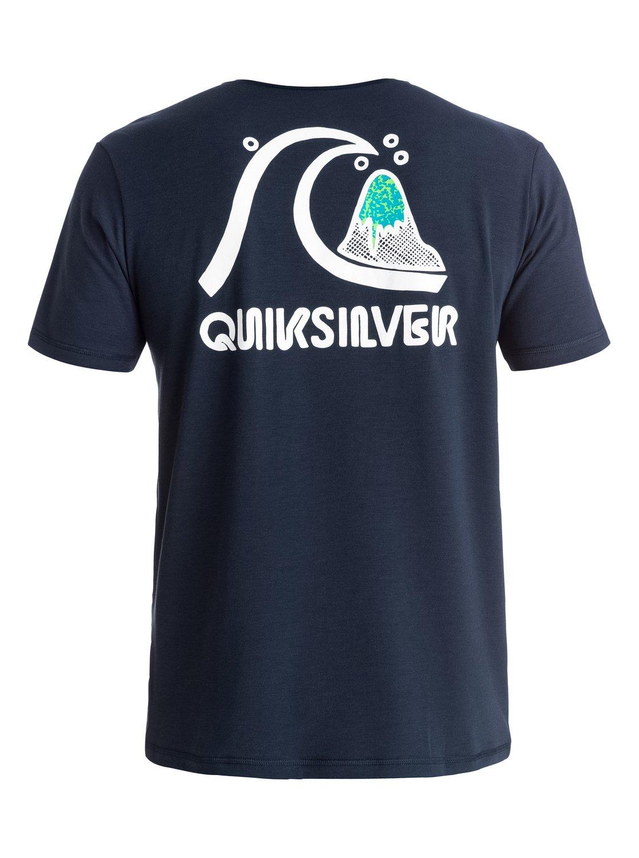 Bubble t shirt rash vest eqywr03046 quiksilver for What is a rash shirt